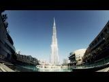 Лучи солнца ласкают самое высокое здание в мире